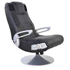 x video rocker surge 2 1 audio gaming chair with bluetooth black