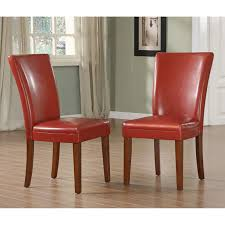 Parson Side Chairs - Set Of 2, Red Wine - Walmart.com Ding Chair Velvet Modern Room Fniture Tufted Parson Set Chairs Red Leather Luxury Picture 3 Of 26 Eugene Parsons Faux Cappuccino Wood Add Contemporary Sophiscation To Your With Shop Classic Upholstered Of 2 By Inspire Q 89 Off Pottery Barn 5 Pc 4 Person Table And Red Dinette Black And Cool Crimson Eco W Glamorous Mid Century Pair Oxblood Club For