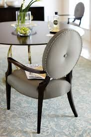 Jet Set Round Dining Table Arm Chair | Bernhardt Round Back Ding Chair Stunning High Upholstered Magnussen Home Walton Wood Table Set With Roundup Natural Linen Paige Chairs Of 2 World Market Signature Design By Ashley Trudell 5piece Gray Roundback Eichholtz Dearborn 1 Oroa Cramco Inc Contemporary Parkwood With Amazoncom Formal Luxurious 5pc Antique Silver Finish Turner At Gardnerwhite Davenport And 4 In Ivory Oak Dav010 Beige Ding Chair Curve Arm Black Wood Frame Also Round