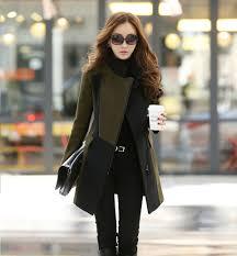 popular womens long wool winter coats buy cheap womens long wool