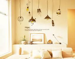 shop small light bulbs wall decals living room bedroom