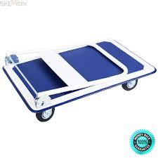 100 Flatbed Hand Truck Buy SKEMiDEXPlatform Cart 660lbs Foldable Dolly Push