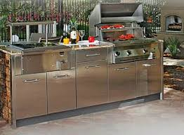 Charming Outdoor Kitchen Cabinets Stainless Steel Best For Your