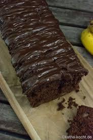 schneller schoko bananenkuchen aus der kastenform katha