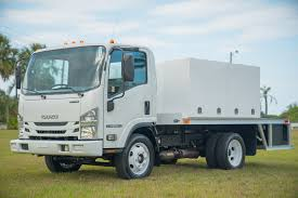 Isuzu NPR-HD Spray Truck For 14,500 Lbs | MJ Truck Nation