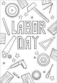 Click To See Printable Version Of Labor Day Coloring Page