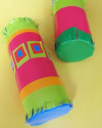 Kindergarten Arts Crafts Activities Toilet Paper Roll Maracas