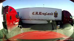 100 Cr England Truck Two CR Semi S Collide At Loves Stop