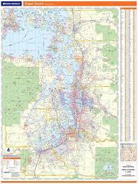 Rand McNally Regional Wall Map
