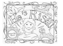 Coloring Pages Easter Day Ideas