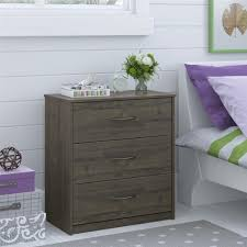 6 Drawer Dresser Walmart by Ameriwood Furniture Mainstays 3 Drawer Dresser Weathered Oak