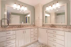 L Shaped Bathroom Vanity Ideas by Bathroom Countertops Models And Types Option Bathroom Ideas Koonlo