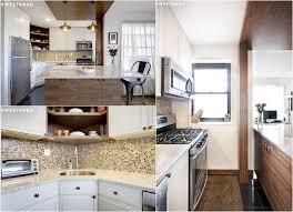 renovation carrelage sol cuisine design interieur renovation cuisine mosaique murale armoires bois