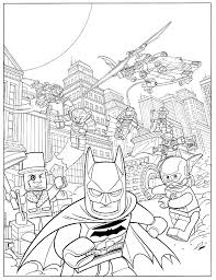 Batman Lego Coloring Pages Gallery