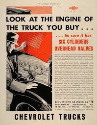 1933 Ad Chevrolet Motor Trucks General Motor Detroit - ORIGINAL ...