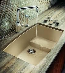 kitchen magnificent blanco kitchen sinks quartz sink white