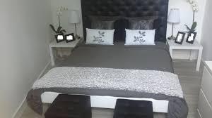 chambre gris noir et blanc chambre noir blanc argent design de maison of chambre et