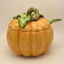 Pumpkin Soup Tureen And Bowls by Pumpkin Tureen Ebay