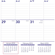 Amazon At A Glance PM228 18 Monthly Wall Calendar January