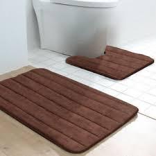 badematten garnitur 2 teilig rutschfest badvorleger