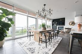 modern dining room with flush by atg stores zillow digs zillow