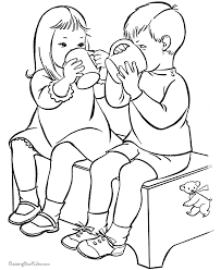 Kid Popular Coloring Book Images