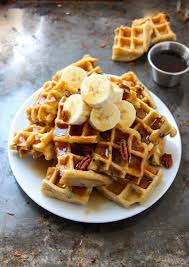 Bisquick Pumpkin Pecan Waffles by Melt In Your Mouth Homemade Waffles Layers Of Happiness