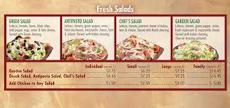 Fresh Salads Guido s Premium Pizza Pasta Subs Salads & Bread