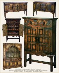 Rustic Spanish Hacienda Style Furniture But I Would Like One Or All Of Them In