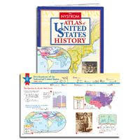 Nystrom Desk Atlas 2014 by World History Atlas Pack Plus E Book A Clearly Organized Graphic