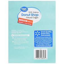 Dunkin Donuts Pumpkin K Cups Amazon by Great Value Donut Shop Ground Coffee Single Serve Cups Medium