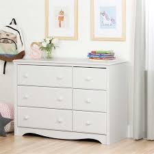 South Shore 6 Drawer Dresser by South Shore Angel 6 Drawer Changing Table Dresser In Pure White