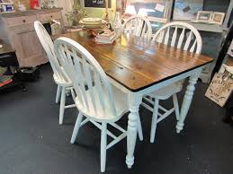 COUNTRY HOME FARM TABLE And CHAIR SET Just Fine Tables Wooden Bench Cost Hill Country Rectangular Table With Four Side Chairs And One Bench Kitchen Seat Fresh Ding Country Home Farm Table And Chair Set Just Fine Tables Wooden Cost Room Leons With Style Sets Home Interior Blog 6 Pc Farmhouse For Shabby Chic Pine Louis Xvi Benches Another Farmhouse Ding Room Set Bench The History Of Gbvims Makeover