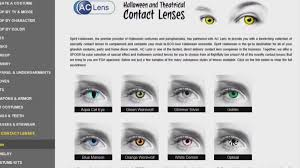 Halloween Contacts Without Prescription by 100 Halloween Contact Fda Approved Halloween Contact Lenses