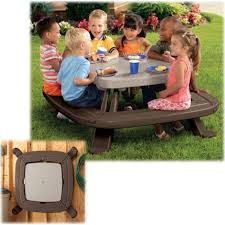 alfa img showing u003e little tikes folding picnic table