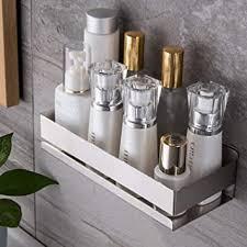 duschkorb edelstahl duschablage wandmontage badablage für badezimmer zubehör ruicer