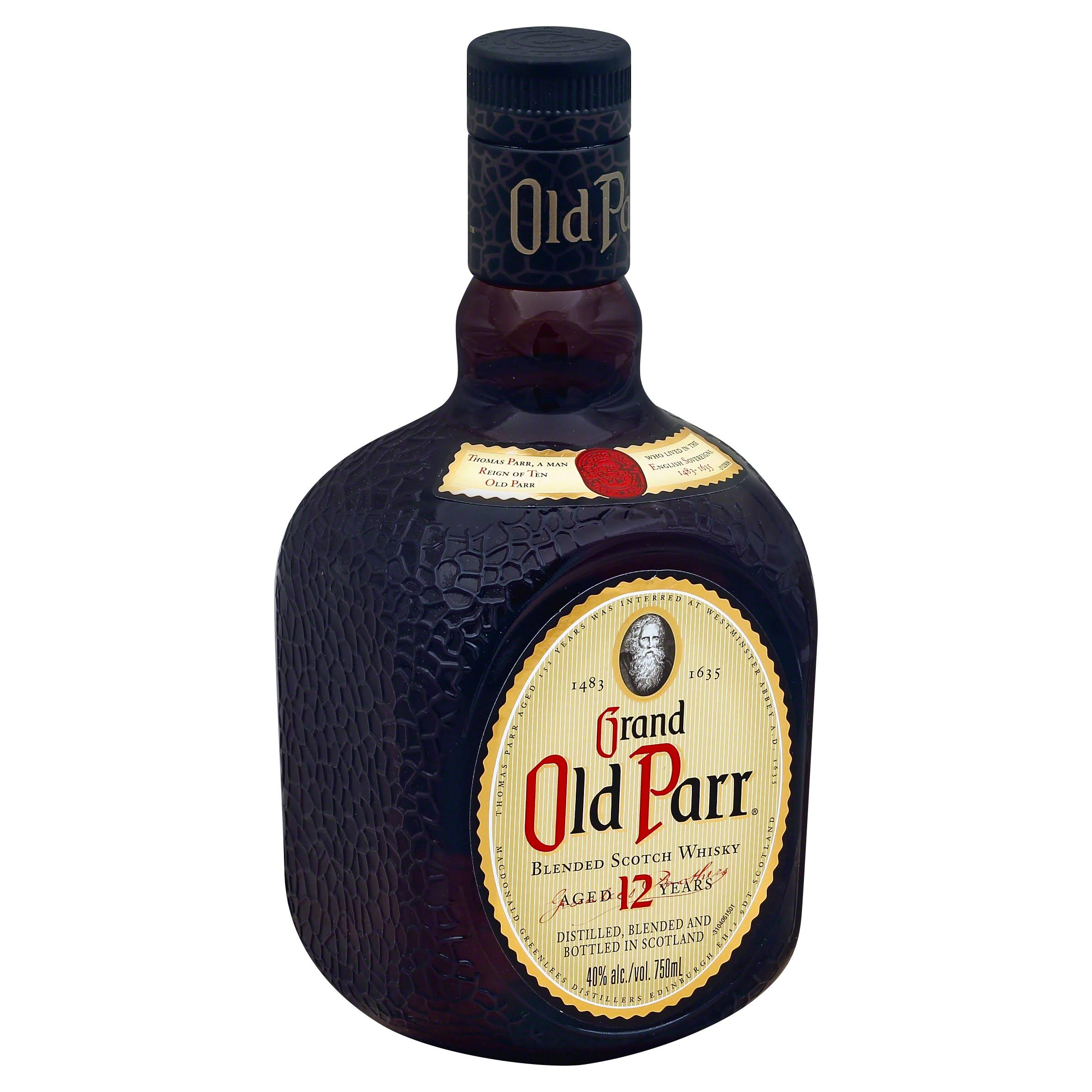 Grand Old Par Blended Scotch Whisky