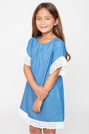 2017 Junior Lace Cotton Dresses Teenager Fashion Casual Dress Big Babies Summer Clothing Kids Clothes