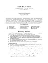 Hospitality Resume Objective Sample