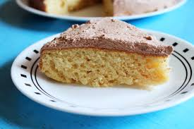 Eggless vanilla cake recipe How to make eggless soft spongy