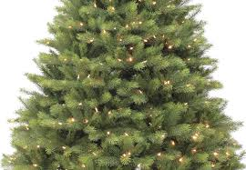 Silver Tip Christmas Tree Artificial by 7ft Pre Lit Grand Kensington Fir Life Like Artificial Christmas
