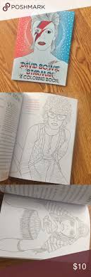 David Bowie Starman Adult Coloring Book Biography Awesome Bio And Purchased