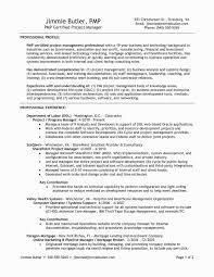 Telecom Project Manager Resume Sample Elegant 18 Management Samples