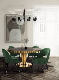 2018 color trends mid century home decor ideas with green