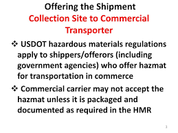 HHW And VSQG Annual Update- DOT Hazardous Materials Compliance - Ppt ... Scanned Document The Fmsca Hours Of Service Changes Go Into Effect Today July 1 Report On Dot Significant Rulemakings New Log Book Regulations Traing Course Preview Youtube Is Your Bus Maintenance Plan Liantdotbuscomp Kings Highway Charters Tours Wolforth Tx Breaking Fmcsa Releases Drug And Alcohol Clearinghouse Final Rule Nppc To Reconsider Regulations Threatening Animal Welfare Safety Rating Is Hereby Upgraded Satisfactory Sap Epa Announce Proposed For Phase 2 Ghg Fuel New Jersey Motor Truck Association Us Regulatory Compliance