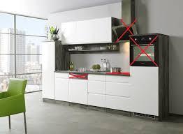 held küchenzeile 330 cm hochglanz weiß grifflos mit regalen ohne e geräte hamilton
