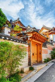 100 South Korean Houses Traditional Houses Of Bukchon Hanok Village In Seoul