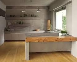peinturer un comptoir de cuisine le comptoir de cuisine en béton installation et entretien