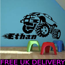 100 Monster Truck Wall Decals 44 S Collection Decal Shop