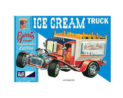 100 Toy Ice Cream Truck Round 2 MPC George Barris Commemorative Ed